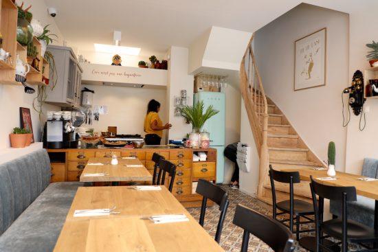 Sanseveria bagels Ostend lunch restaurant